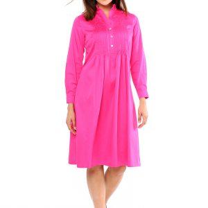 Kleid Renata pink Front Gesamtansicht