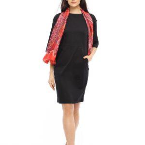 Kleid Saskia schwarz Gesamtansicht