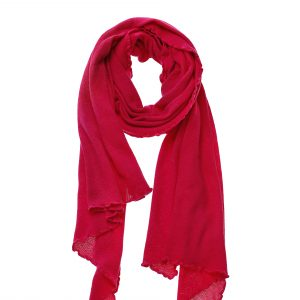 Strickschal Soraya pink Gesamtansicht