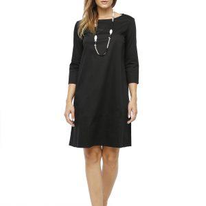 Kleid Britta schwarz Gesamtansicht