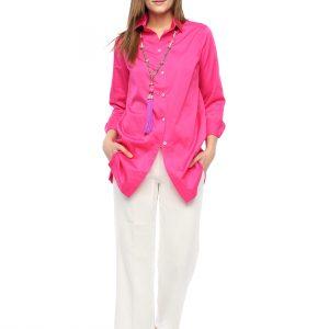 Hembdluse Rosemarie pink Front Gesamtansicht