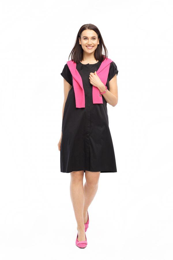 Kleid Anke schwarz Gesamtansicht
