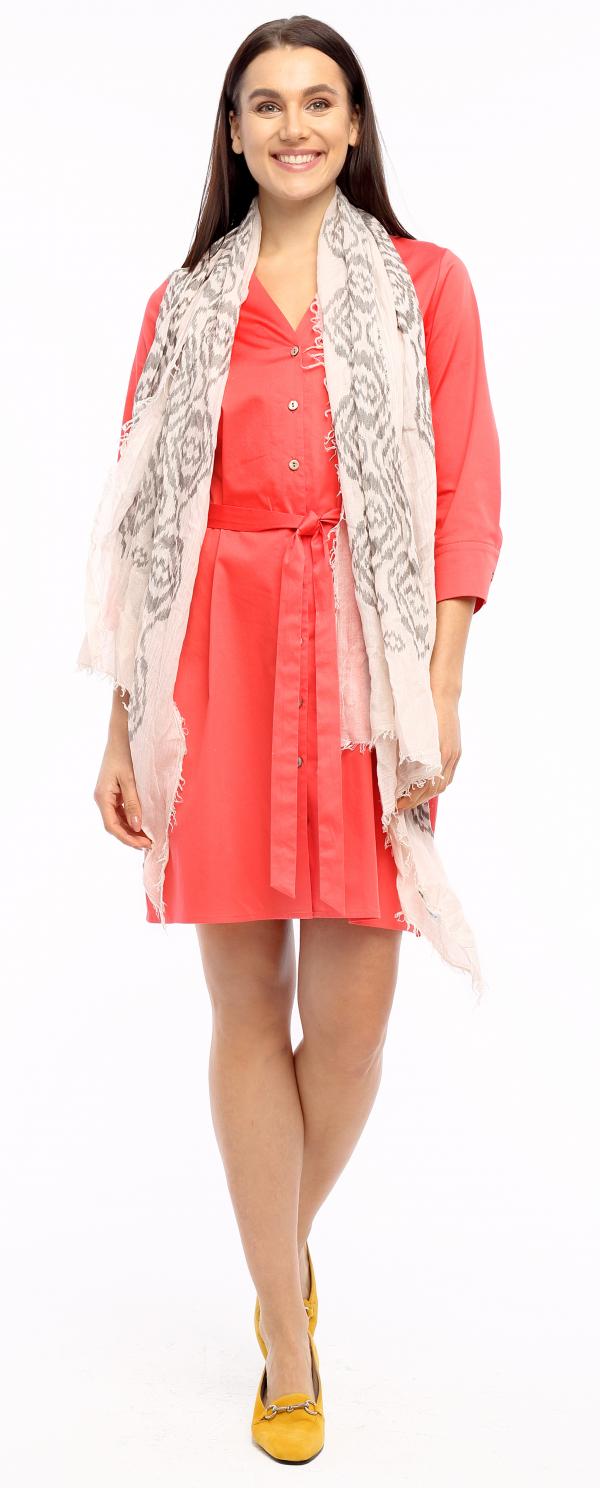Kleid Corinna koralle Gesamtansicht