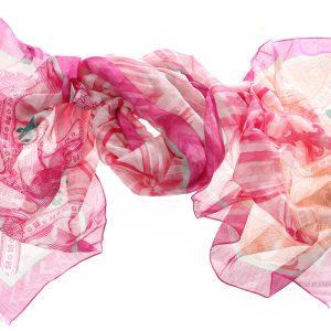 Modal Leinenschal Priska pink