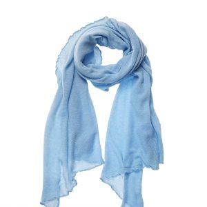 Strickschal Soraya blau Gesamtansicht