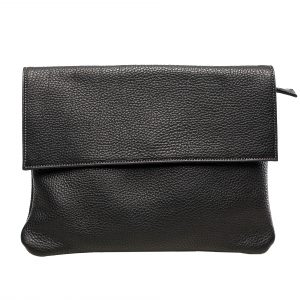 Lederhandtasche Clarissa schwarz Gesamtansicht